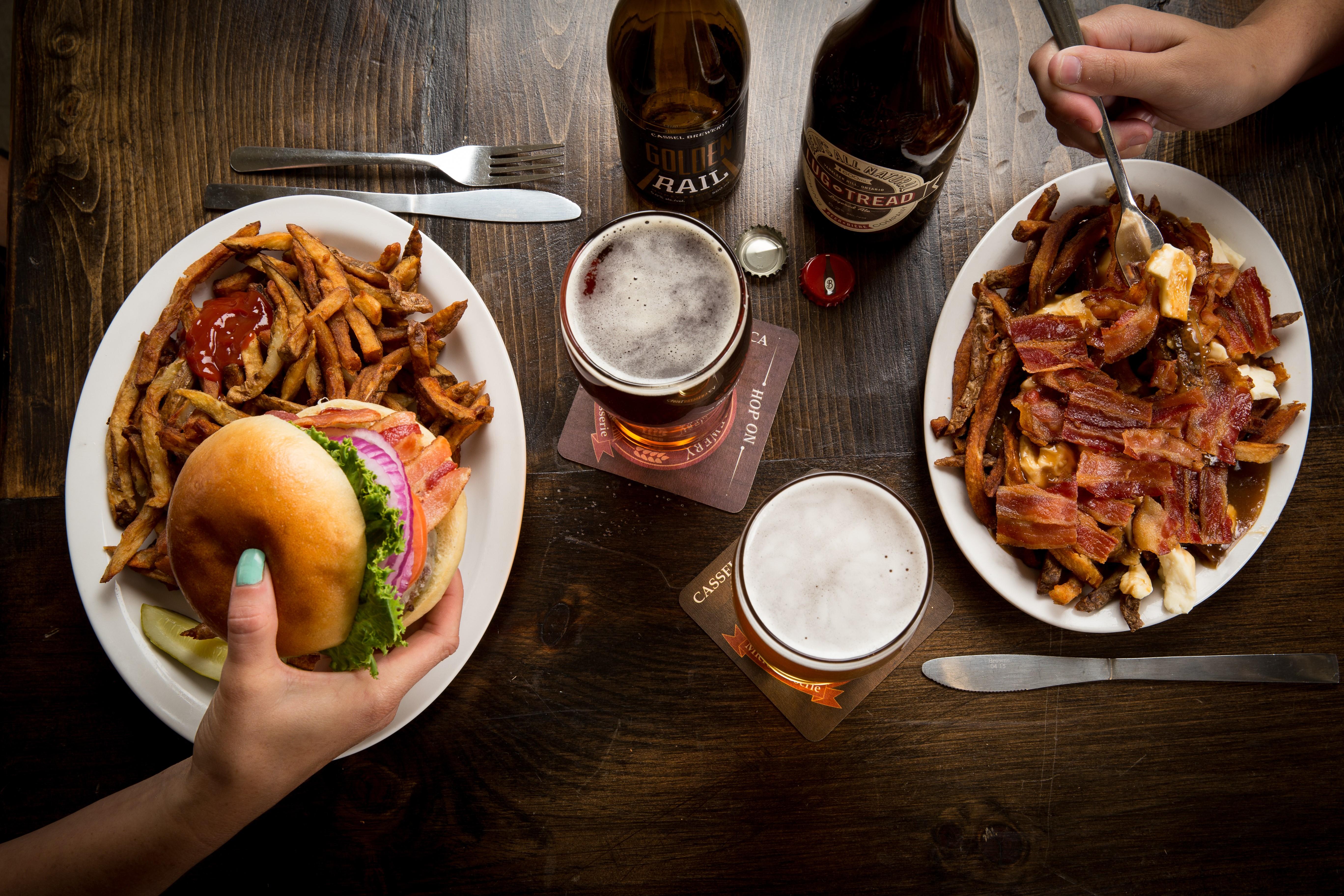 Restaurant - bière et bouffe